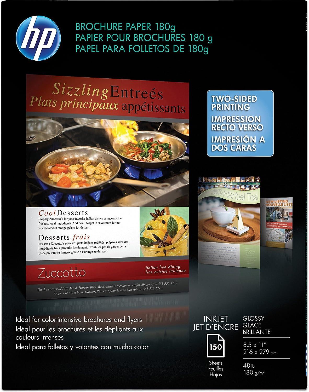 HP Glossy Brochure Inkjet Paper