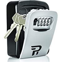 Key Lock Box for Outside - Rudy Run Wall Mount Combination Lockbox for House Keys - Key Hiders to Hide a Key Outside…