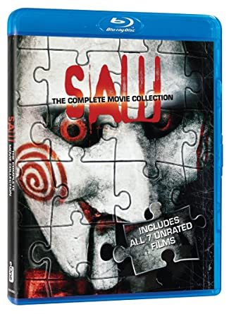 Amazon com: Saw: The Complete Movie Collection [Blu-ray