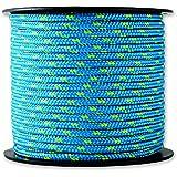 Chapuis MO325B Drisse polyester 200 kg D 3 mm L 25 m Bleu/Jaune