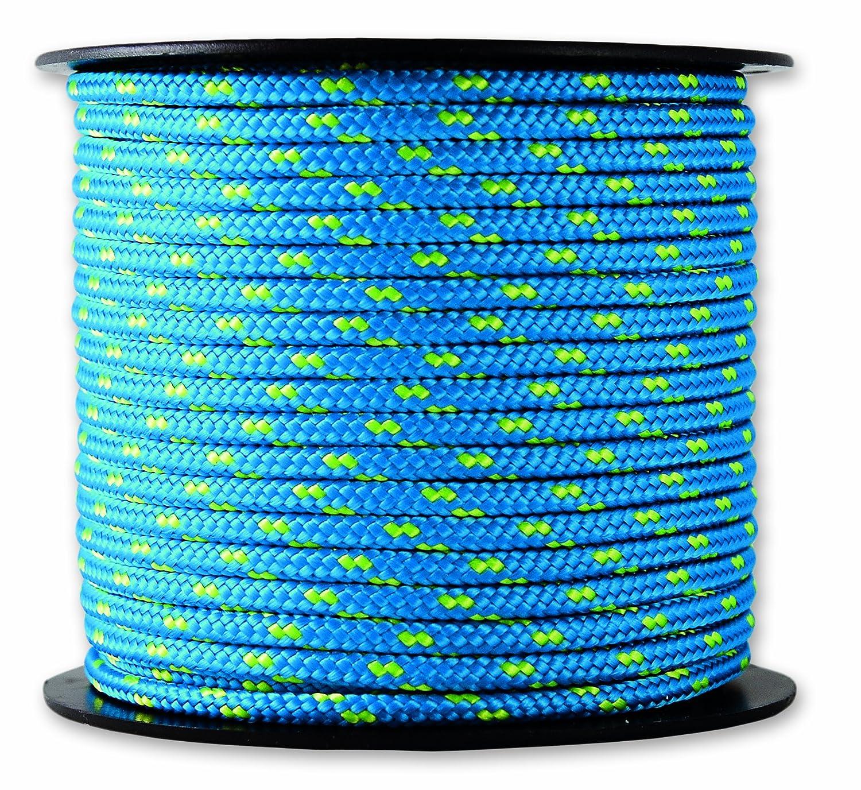 Blau//gelb 200 kg Chapuis MO325B Polyester-Flaggleine Durchmesser 3 mm L/änge 25 m