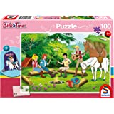 Schmidt Spiele 56264 Bibi und Tina Kinderpuzzle, 100 Teile