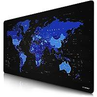 CSL - oversized Titanwolf muismat 1200x600mm wereldkaart - XXXL muismat groot - tafelonderlegger groot formaat…