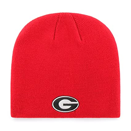Amazon.com   OTS NCAA Georgia Bulldogs Beanie Knit Cap a9cd16177f7