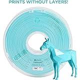 Polymaker PolySmooth 3D Printer Filament, Layer-Free 3D filament, Polymaker Teal, 1.75 mm Filament, 750g