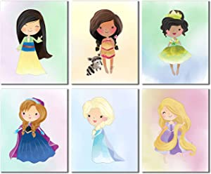 Disney Princess Kids (Set Two - 6 Prints)