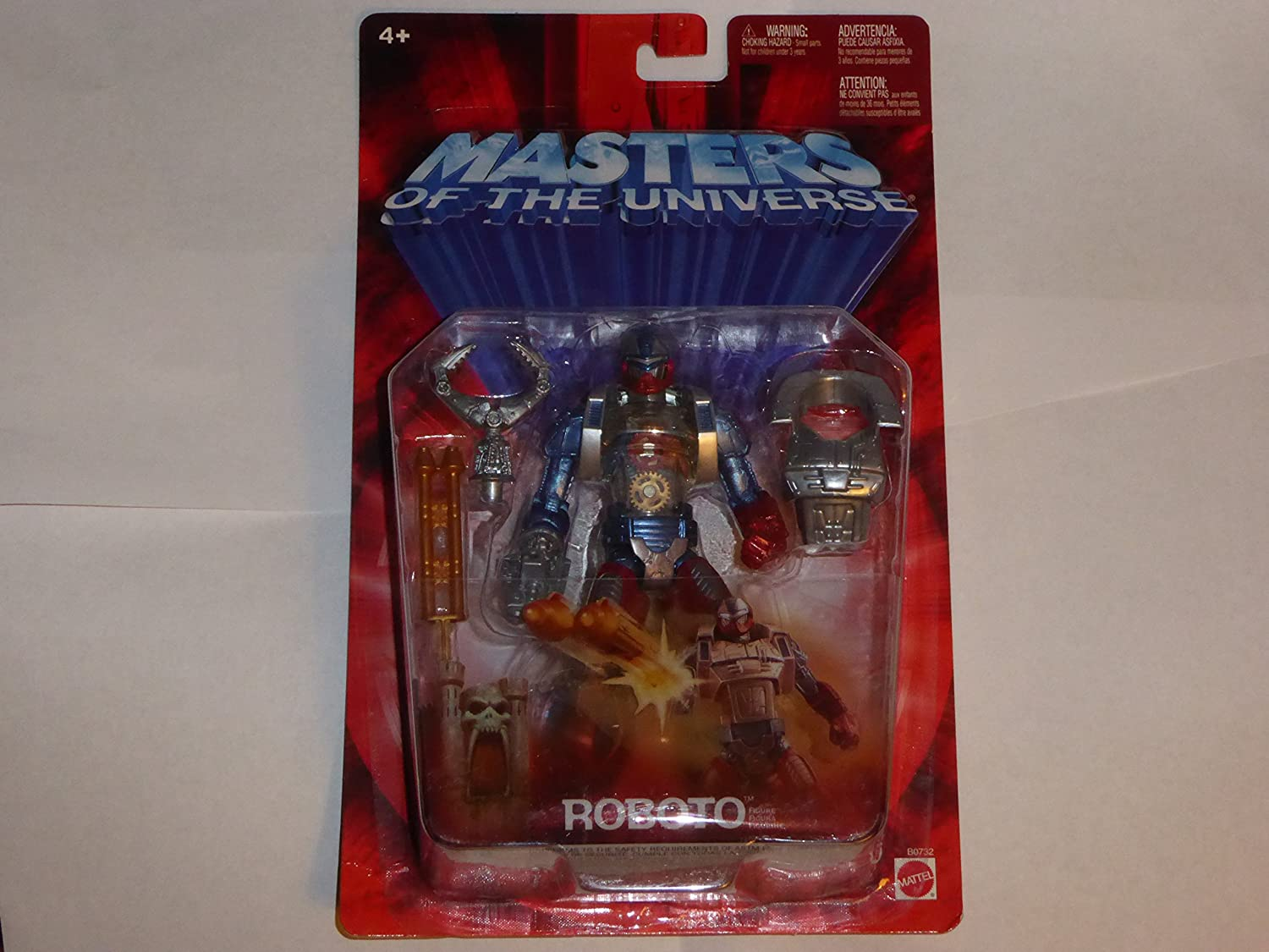 Masters of The Universe Roboto Action Figure