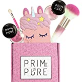 Prim and Pure Mineral Gift Set with Unicorn Mirror| Perfect for Play Dates & Birthday Parties | Kids Eyeshadow Makeup…