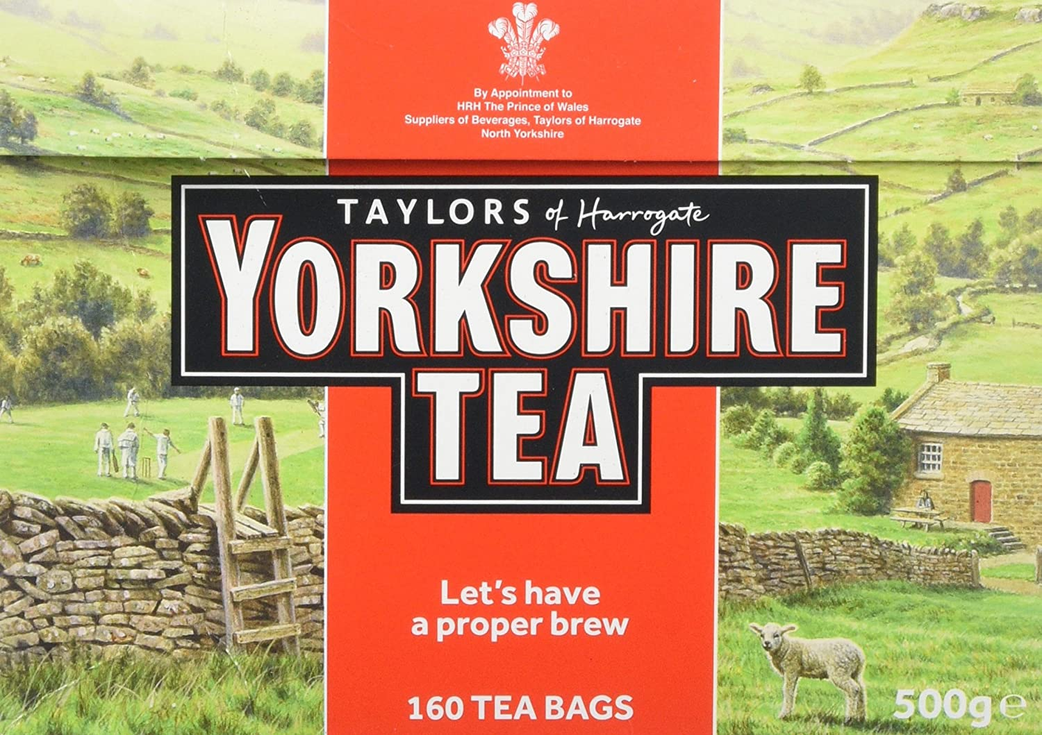 Taylors of Harrogate Yorkshire Gold, 160 Teabags 1056