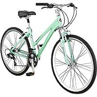 Schinn Siro 700c 21 Speed Aluminum Frame Women's Hybrid Bike (Green)