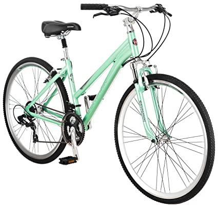 effbec7a3 Amazon.com : Schwinn Women's Siro Hybrid Bicycle 700c Wheel Small Frame  Size, Light Green : Schwin Womens : Sports & Outdoors