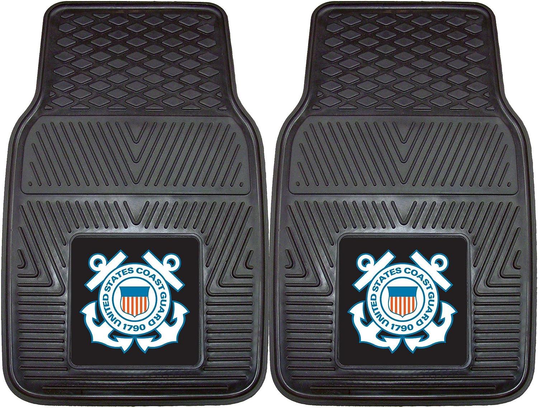 Fanmats Military'Coast Guard' Vinyl Heavy Duty Car Mat - 2 Piece