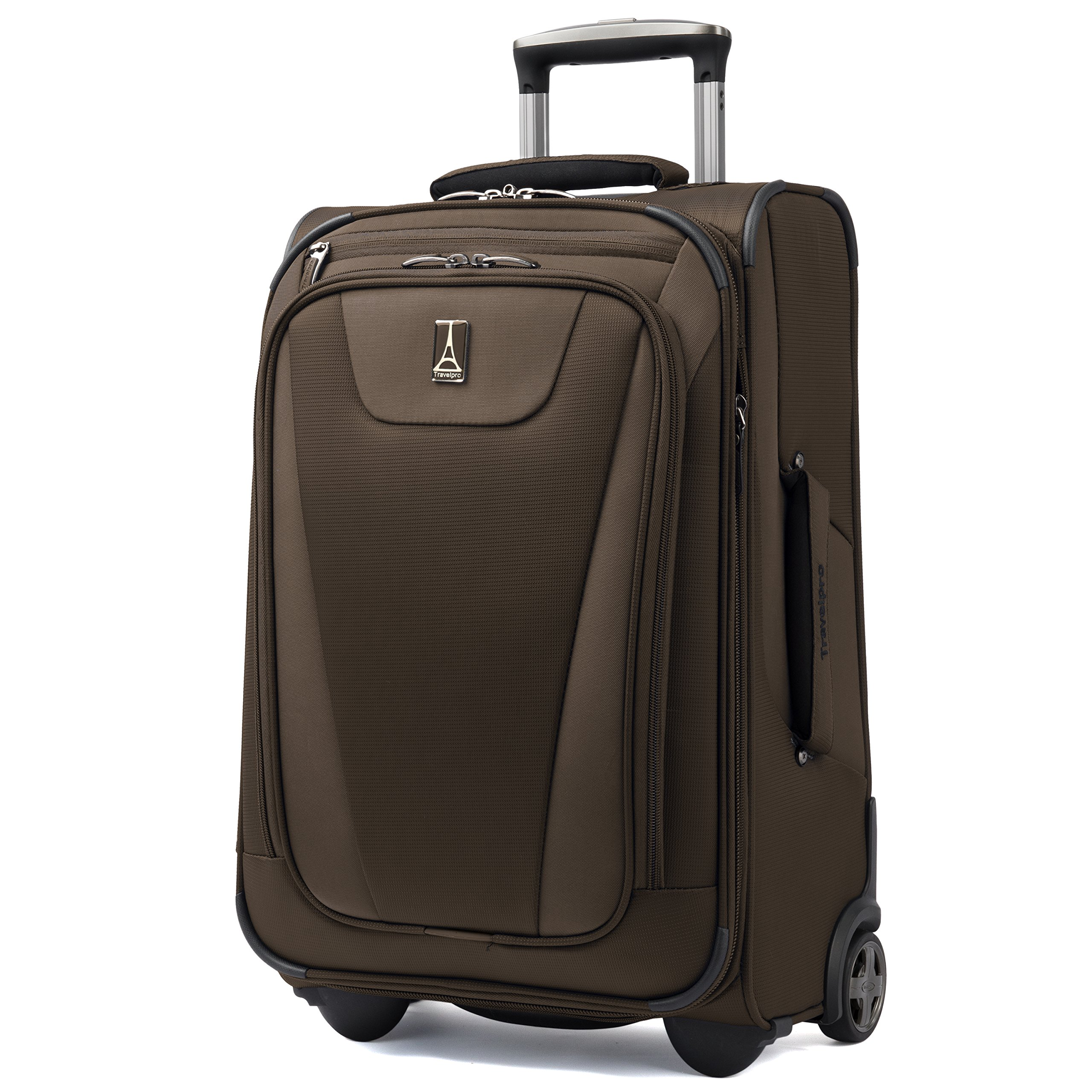 Travelpro Maxlite 4 Expandable Rollaboard 22 Inch Suitcase (Mocha)