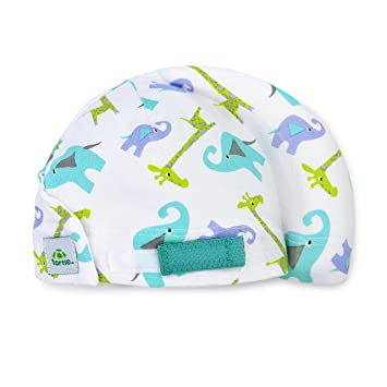 27bd3ea30 Tortle Lucky Elephant Adjustable Repositioning Beanie, Corrective for Flat  Head Syndrome (Large)