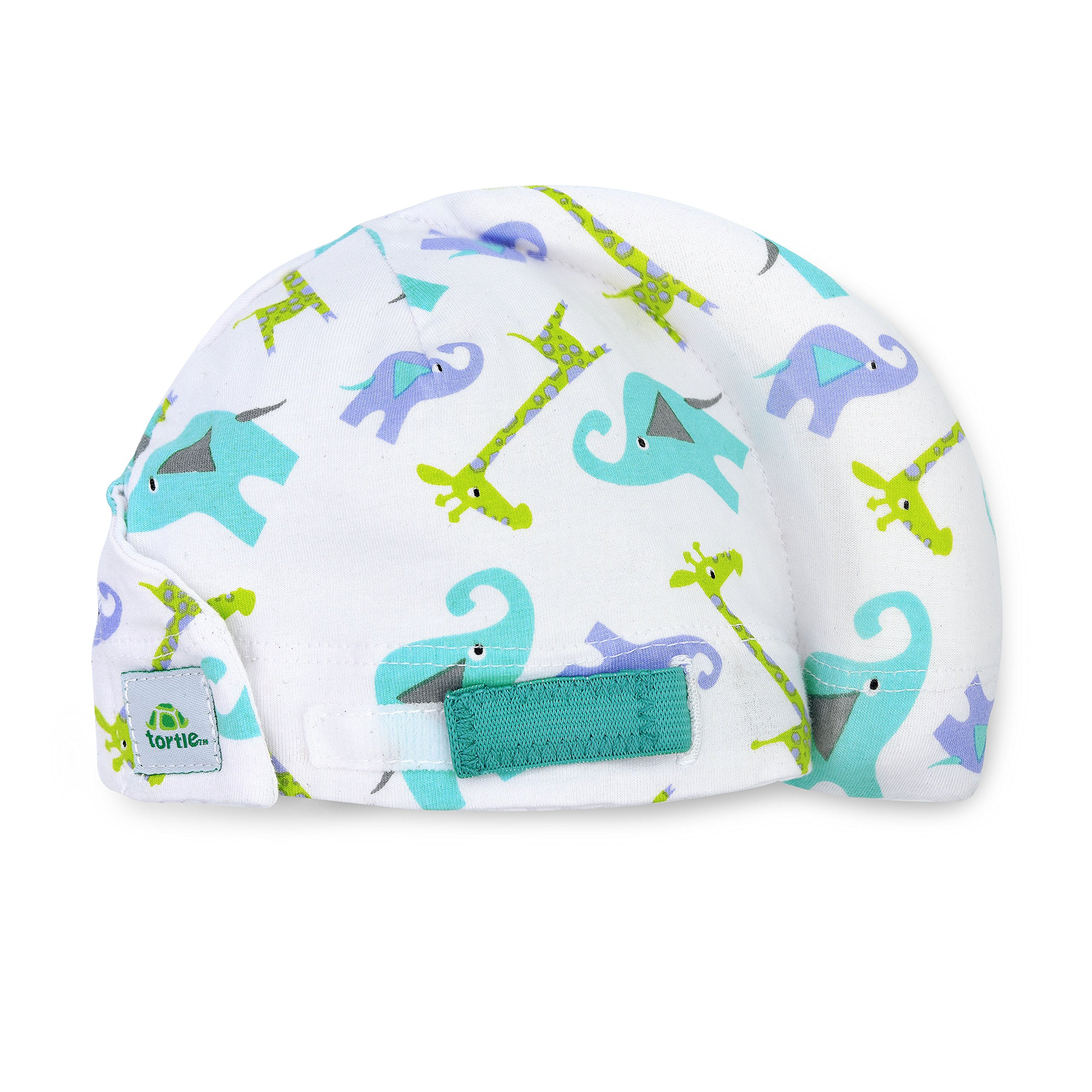Tortle Lucky Elephant Baby Beanie, Prevents Flat Head Syndrome, Provides Neck Support, Prevents Torticollis, Newborn or Infant