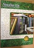 Vocabu-lit Building Vocabulary Through Literature (Book G)