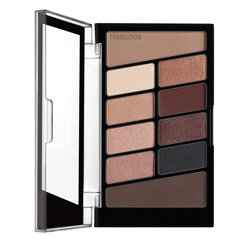 Wet N Wild Color Icon Eyeshadow 10 Pan Palette, Nude Awakening, 0.3 Ounce by Wet 'n Wild