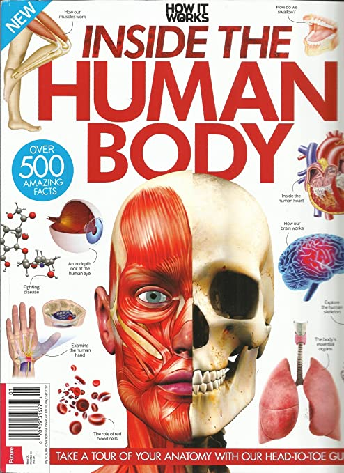 Amazon How It Works Inside The Human Body Issue 2017 No1