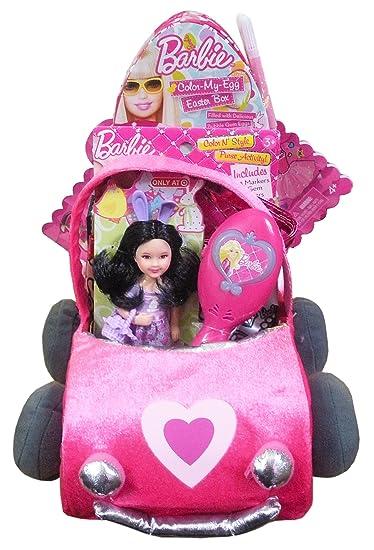 Girls Barbie Gift Basket