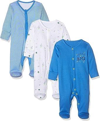 Mothercare Io B Little Space 3pk Sleeps Pijama, (Bright Blue ...