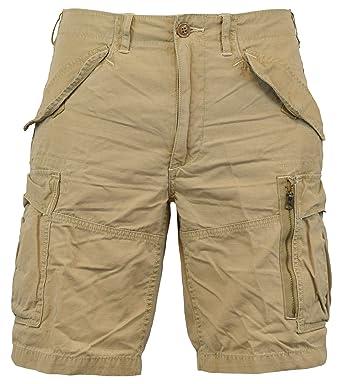 Polo Ralph Lauren Men\u0027s Classic-Fit Ripstop Cotton Cargo Shorts - 30 -  Boating Khaki