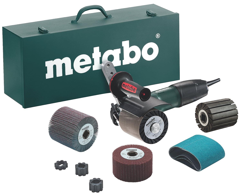 Metabo SE 12-115 SET (*) - Satinadora electrica, accesorios, caja metálica: Amazon.es: Industria, empresas y ciencia