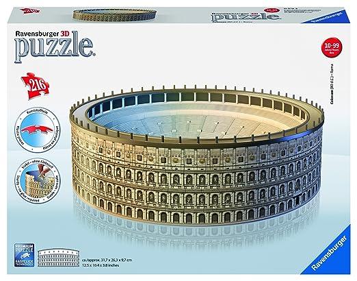 103 opinioni per Ravensburger- Colosseo Puzzle 3D 216 Pezzi