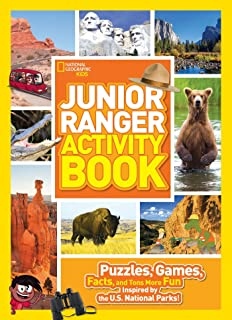 Junior Ranger Activity Book Puzzles Games Facts And Tons More Fun Inspired