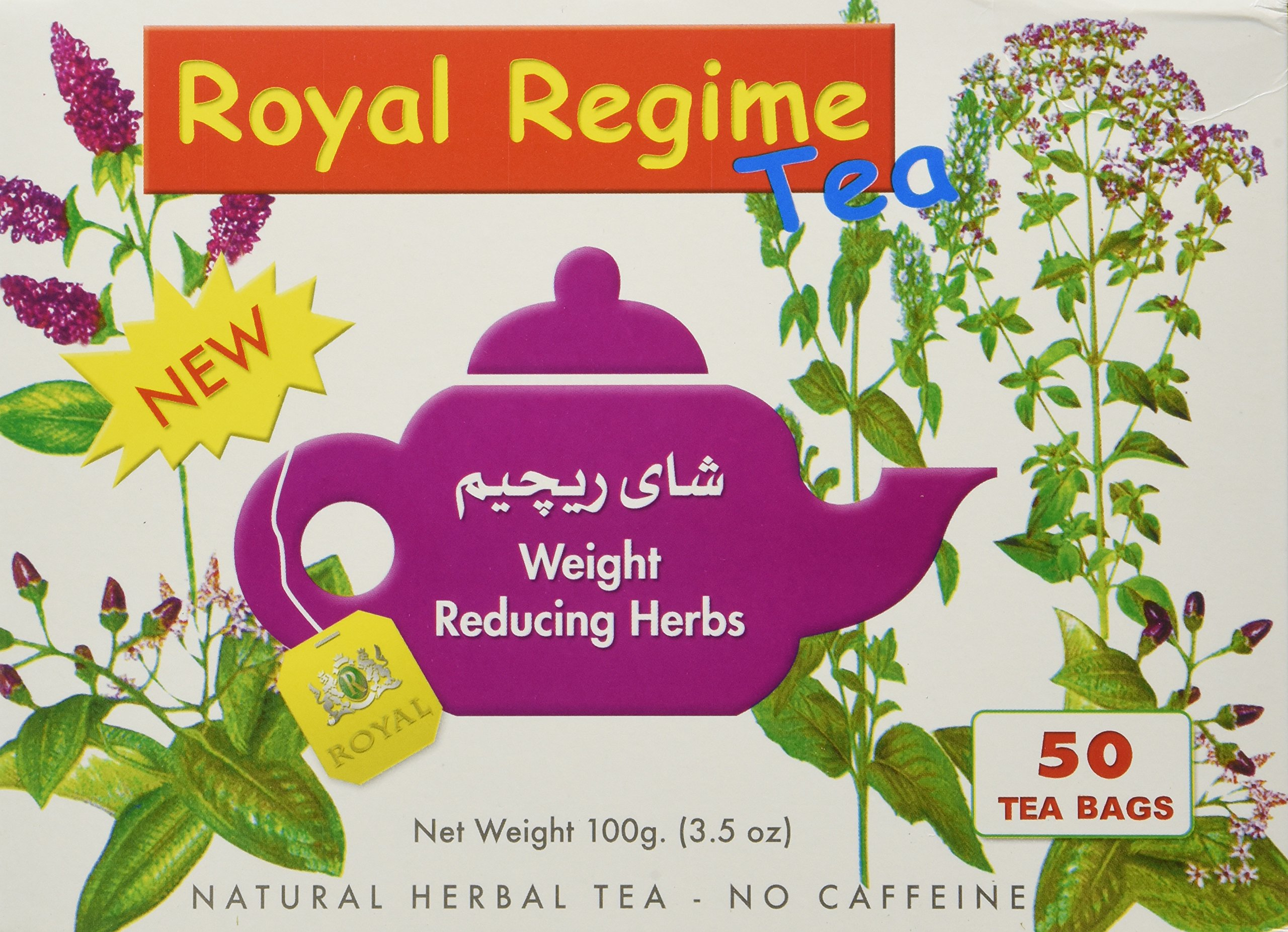 Royal Regime Weight Loss Diet Slimming 50 Tea Bags…