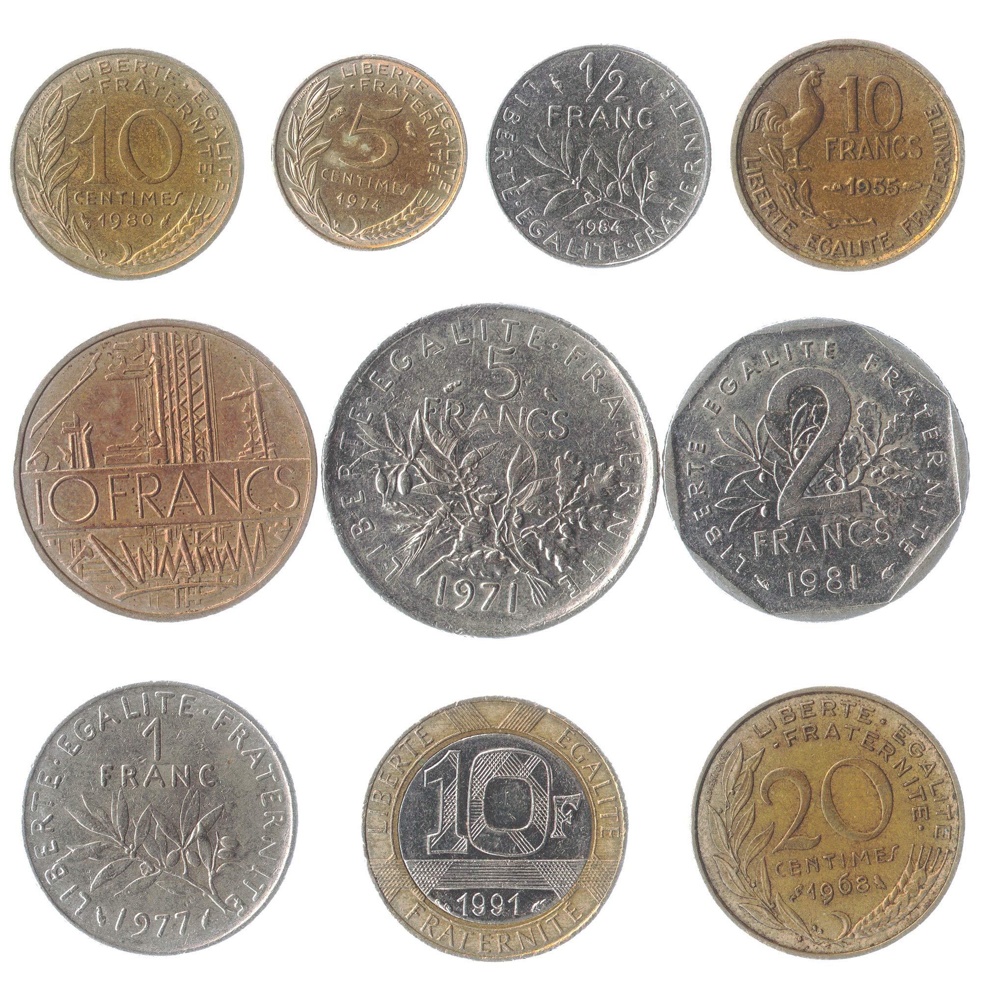 50 World Coins Good Mix Random Grab Bags