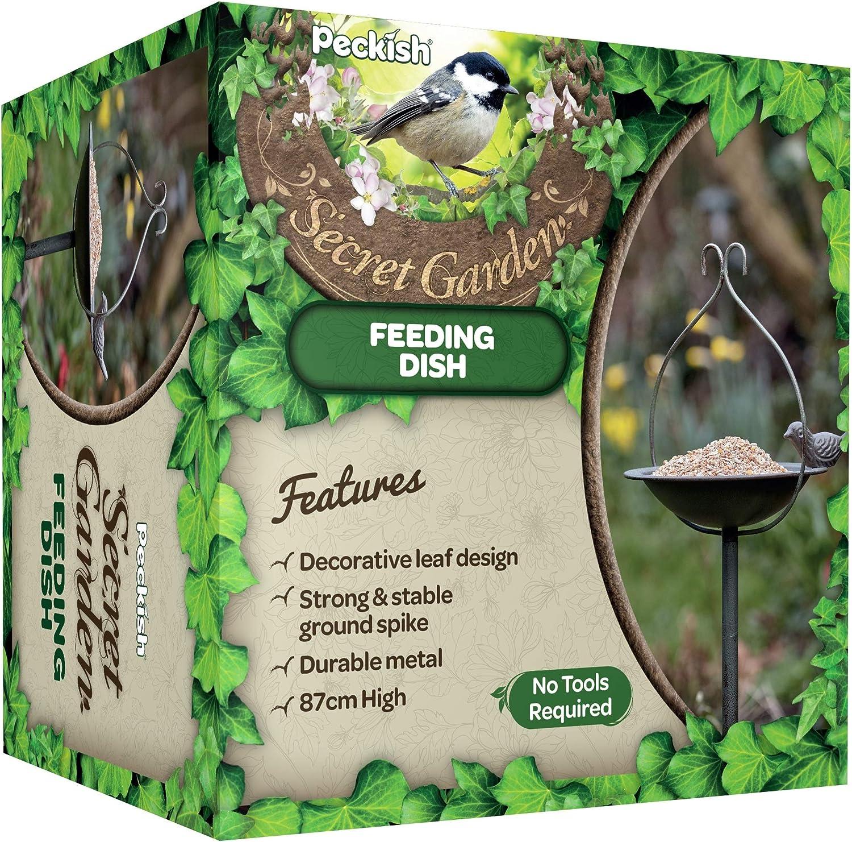 Peckish Secret Garden Mangeoire pour Oiseaux Naturel