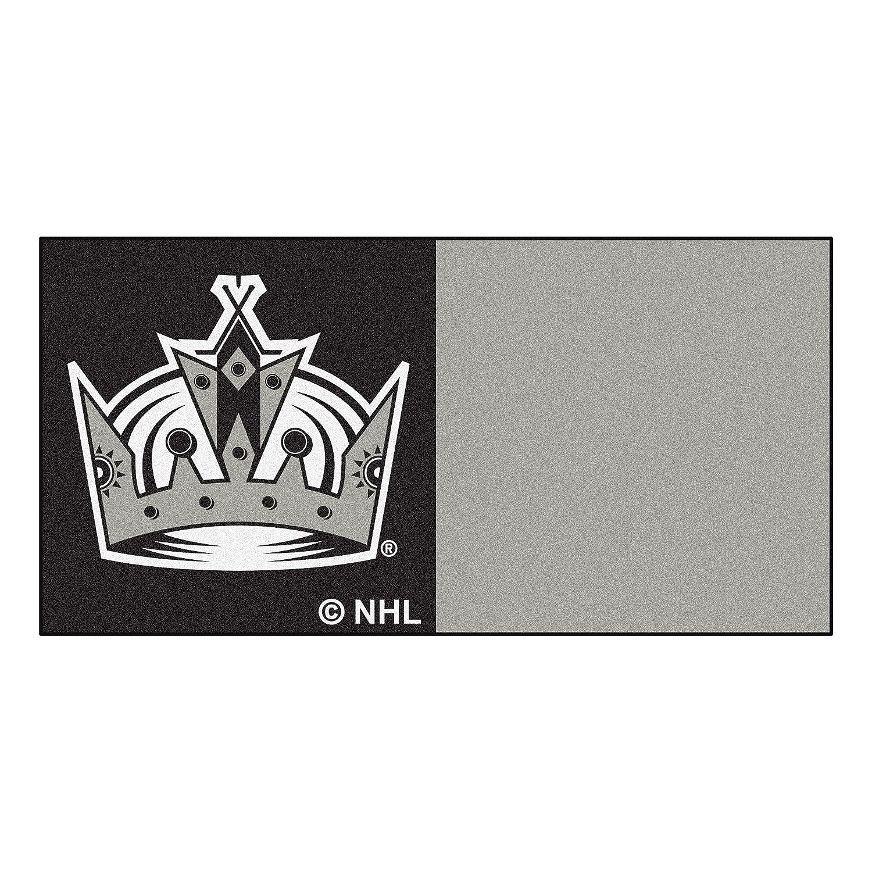 FANMATS NHL Los Angeles Kings Nylon Face Team Carpet Tiles 10680