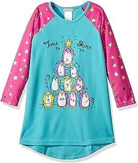 Komar Kids Girls Big Holiday Soft Knit Flannel Nightgown