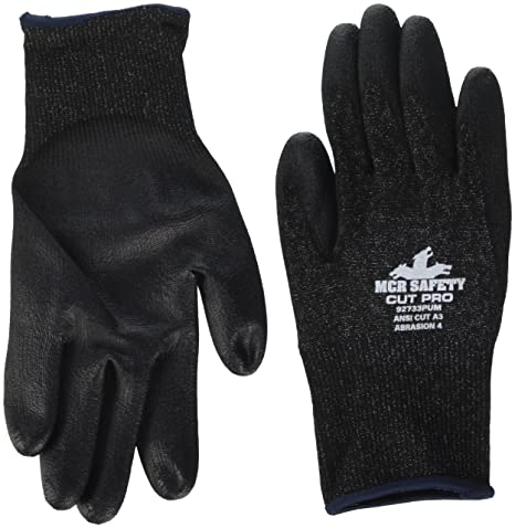 Amazon.com: MCR Safety 92733pum Memphis Cut Pro Guantes ...