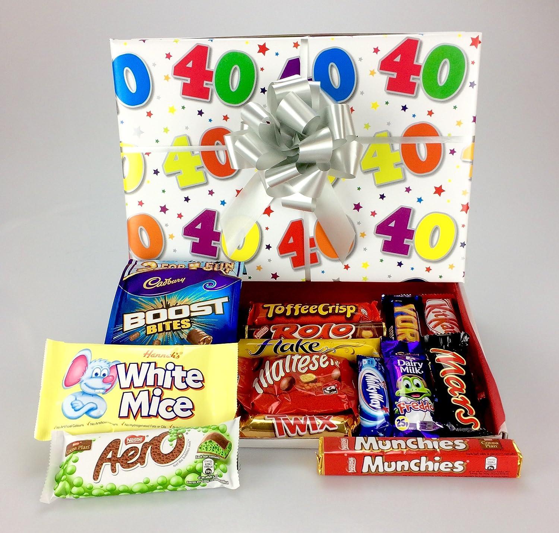 Happy 40th BirthdayLarge Chocolate Hamper