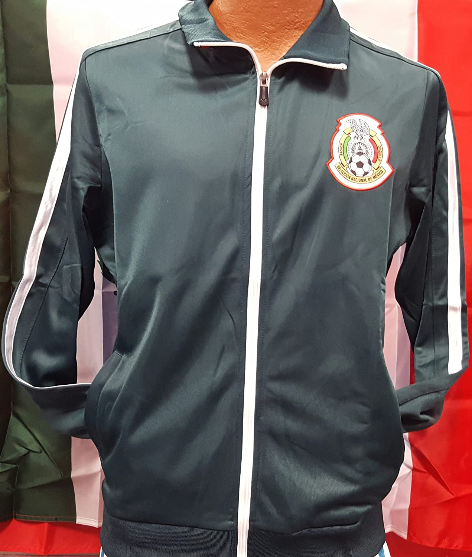 新しい。メキシコ国立チームグリーンジャケット2018サイズMedium B079KWBWFP
