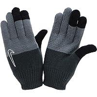 Nike Gebreide handschoenen jeugd zwart/grijs met touch-functie
