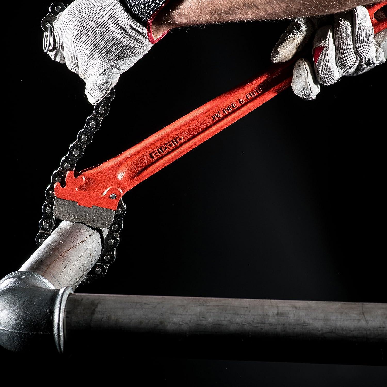 Ridgid Tools 31320 2-1//2-Inch Heavy-Duty Chain Wrench