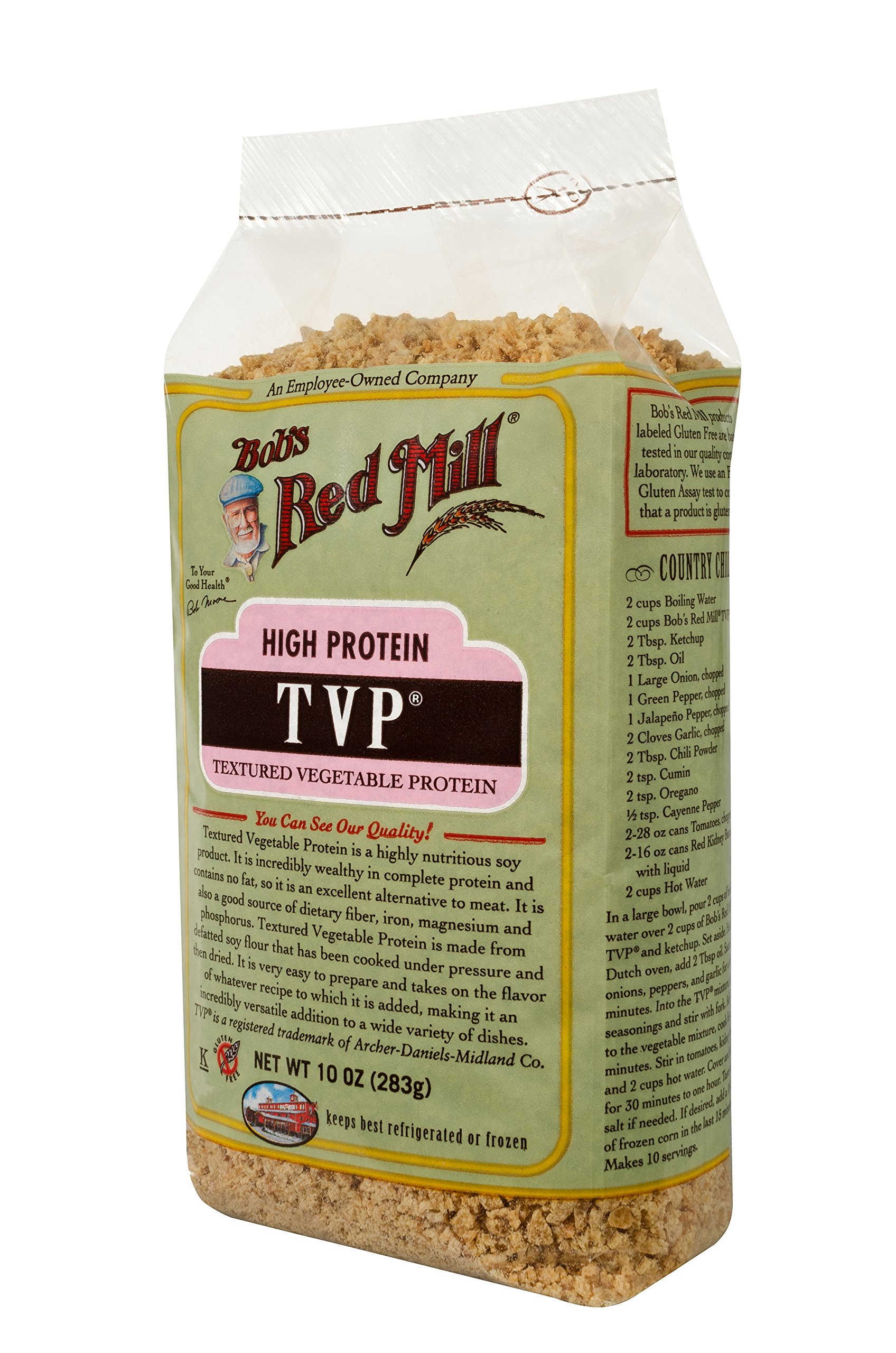Bob's Red Mill, Texturized Vegetable Protein, 10 oz by Bob's Red Mill (Image #5)