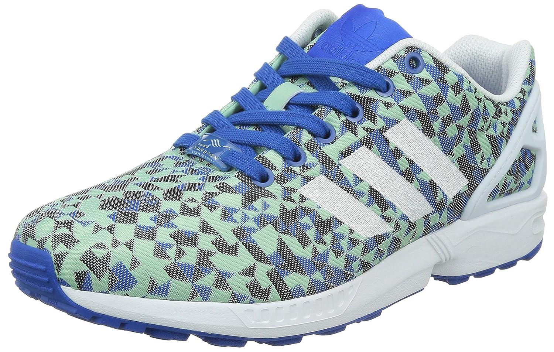 Adidas ZX Flux Weave - Zapatillas para Hombre 44 2/3 EU|Blau (Blau/Ftwr Wei/Core Schwarz)