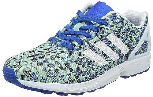 adidas– ZX Flux Weave, Unisex Low Top Sneakers Multicolour Size: ...