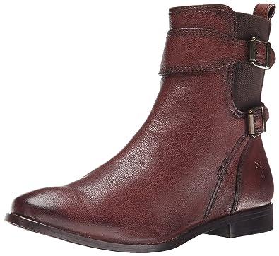 Frye Anna Leather Short Boot G7boBv
