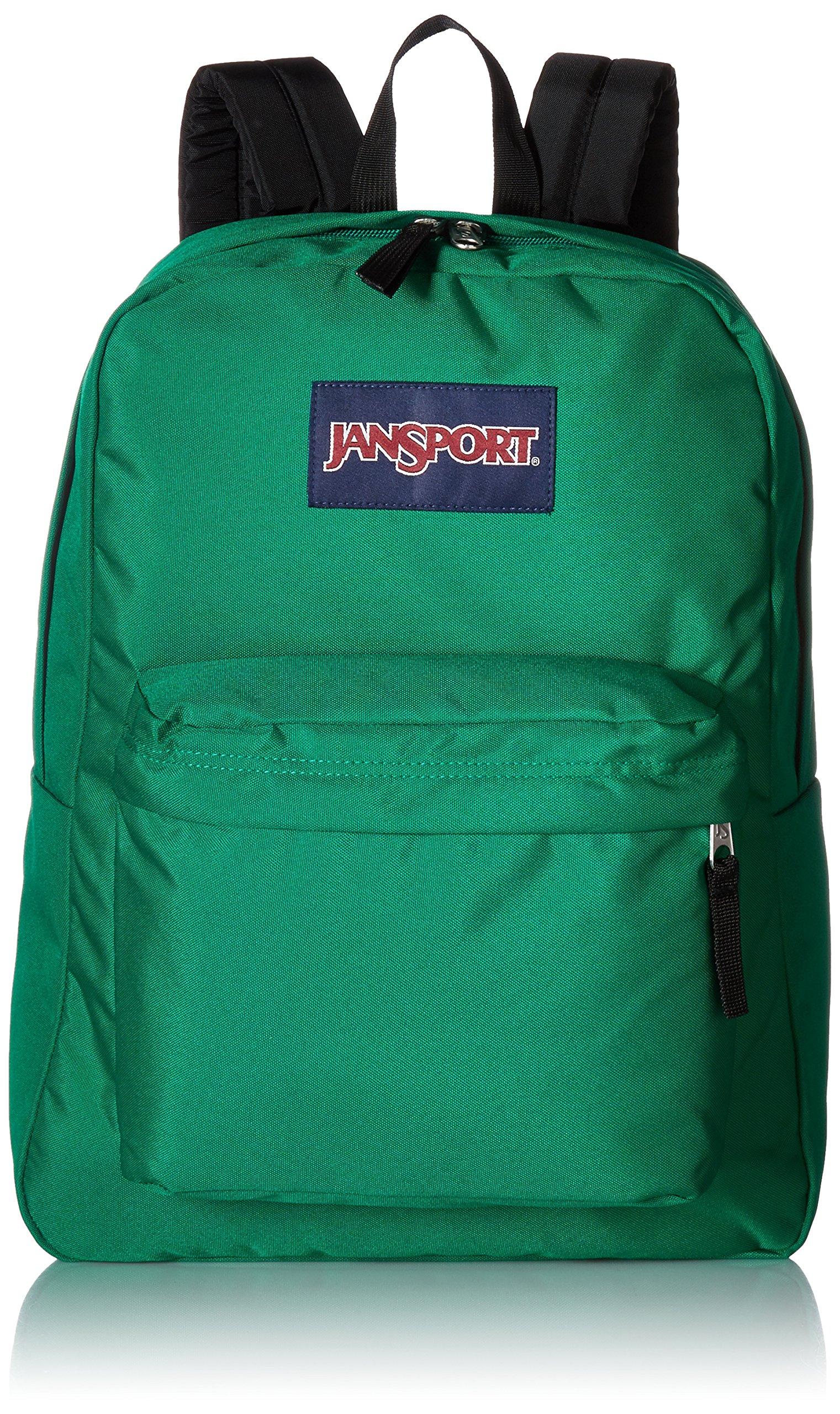 Jansport Superbreak Backpack, Amazon Green, One Size