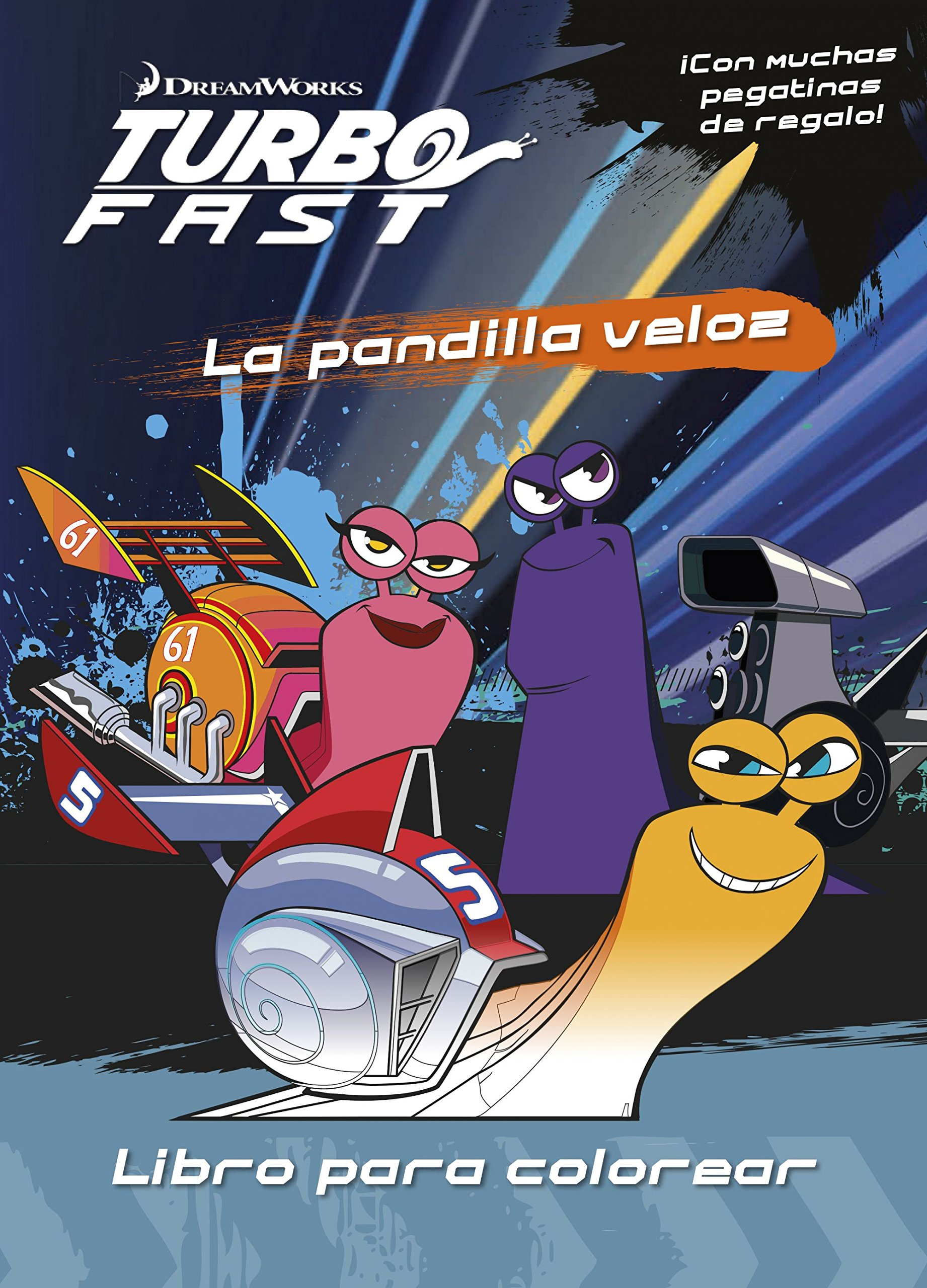 Turbo Fast. Libro para colorear: La pandilla veloz: Amazon.es: Dreamworks: Libros