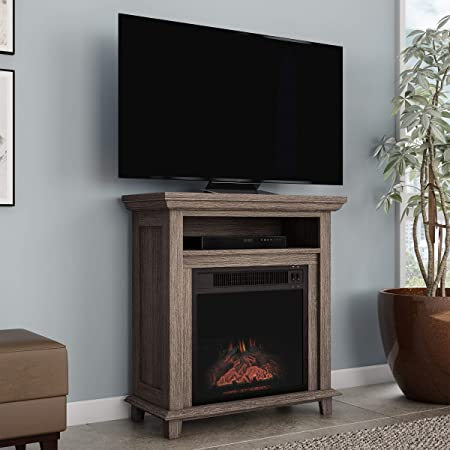 Amazon Com Northwest 80 Fpwf 4 Electric Fireplace Tv Stand 29