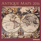 2016 Antique Maps Wall Calendar