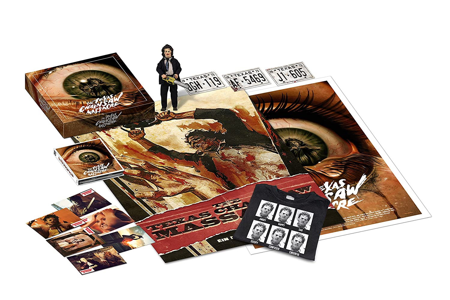 Texas Chainsaw Massacre - Limited Collector\'s Box 2015 - Mediabook + ...