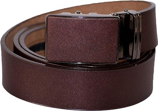 Dazoriginal Marron Cinturón para hombre Cuero Cinturón Hombre ...