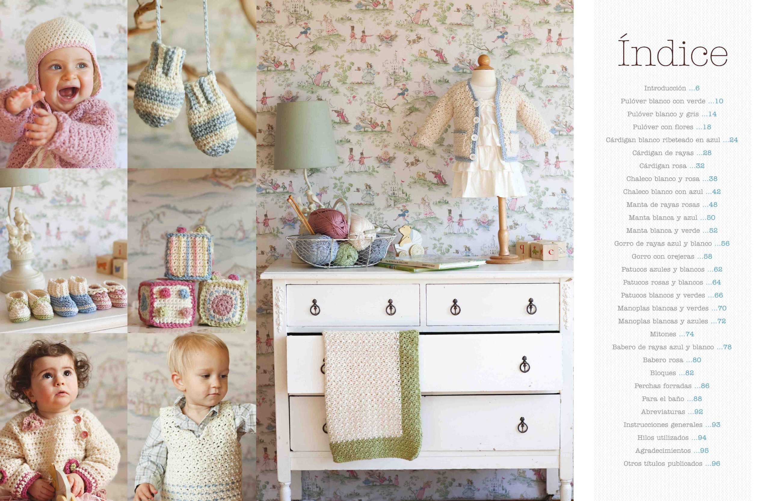 Ganchillo Para Bebés. 20 Proyectos Fáciles Y Rápidos El Libro De ...
