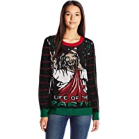 Ugly Christmas Sweater Women's Life of The Party